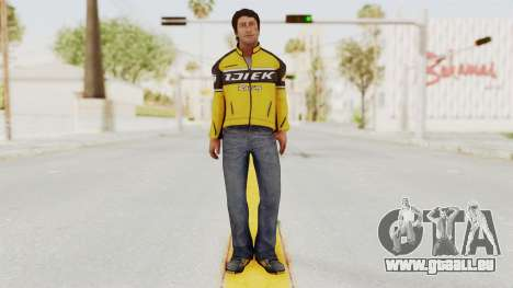 Dead Rising 3 Nick Ramos on Chucks Outfit für GTA San Andreas zweiten Screenshot