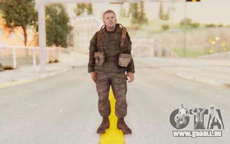 COD BO Mason Vietnam pour GTA San Andreas deuxième écran