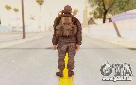 COD BO Mason Vietnam pour GTA San Andreas troisième écran