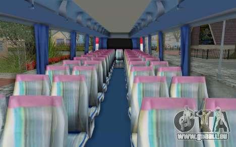 Neoplan Euro 2016 Hungarian Bus für GTA San Andreas Rückansicht