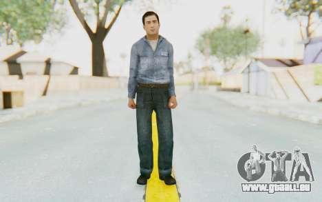Mafia 2 - Vito Scaletta Prison Short Hair pour GTA San Andreas deuxième écran