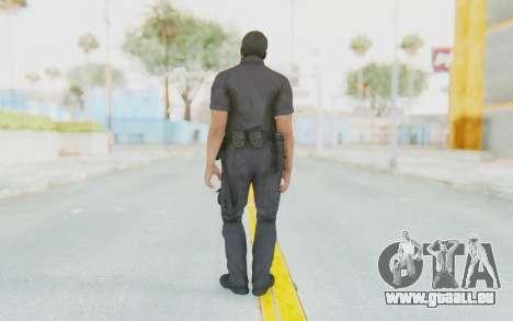 CoD BO2 LAPD v2 für GTA San Andreas dritten Screenshot