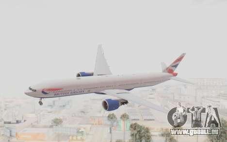 Boeing 777-300ER British Airways für GTA San Andreas
