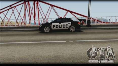 Subaru Impreza WRX STi Police Drift für GTA San Andreas rechten Ansicht