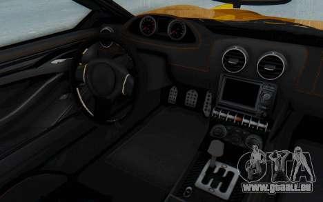 GTA 5 Dewbauchee Seven 70 IVF pour GTA San Andreas vue de droite