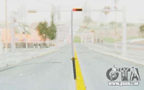 APB Reloaded - Katana pour GTA San Andreas deuxième écran