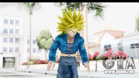 Dragon Ball Xenoverse Future Trunks SSJ2 pour GTA San Andreas