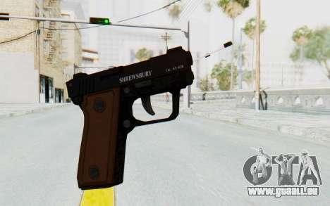 GTA 5 Shrewsbury SNS Pistol pour GTA San Andreas deuxième écran