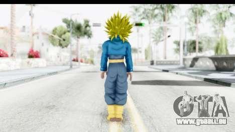 Dragon Ball Xenoverse Future Trunks SSJ2 pour GTA San Andreas troisième écran