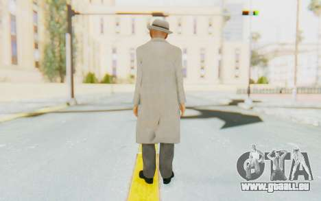 Mafia 2 - Jimmy Vendetta White Suit für GTA San Andreas dritten Screenshot