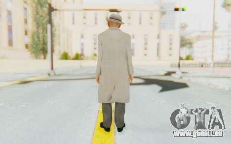 Mafia 2 - Jimmy Vendetta White Suit für GTA San Andreas dritten Screenshot