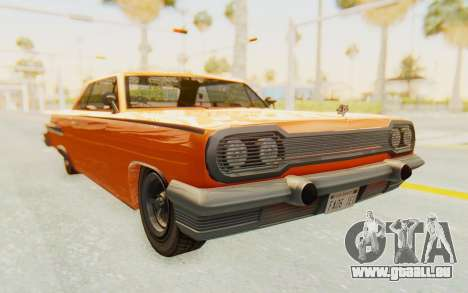 GTA 5 Declasse Voodoo Alternative v1 PJ pour GTA San Andreas vue de droite