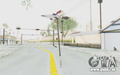 Levia Weapon für GTA San Andreas dritten Screenshot