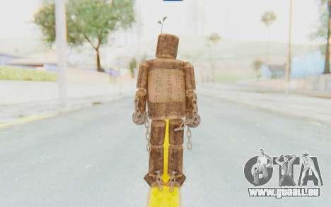 Mokujin pour GTA San Andreas troisième écran