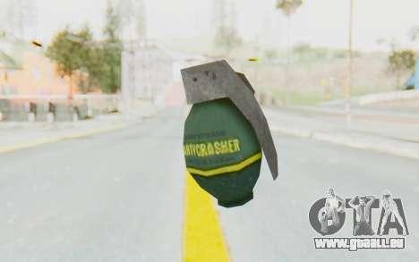 APB Reloaded - Grenade pour GTA San Andreas deuxième écran