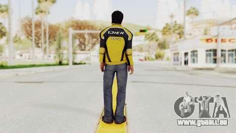Dead Rising 3 Nick Ramos on Chucks Outfit für GTA San Andreas dritten Screenshot