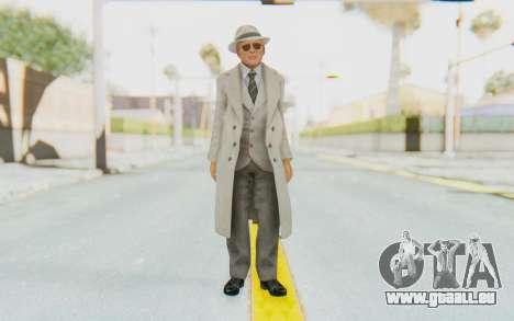 Mafia 2 - Jimmy Vendetta White Suit für GTA San Andreas zweiten Screenshot