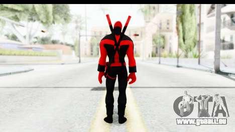Marvel Heroes - Deadpool (Ultimate) pour GTA San Andreas troisième écran
