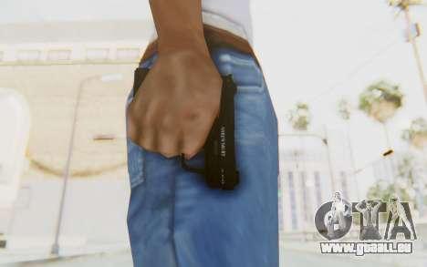 GTA 5 Shrewsbury SNS Pistol pour GTA San Andreas