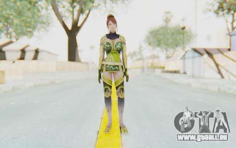 Dynasty Warriors 7 - Lian Shi v2 für GTA San Andreas zweiten Screenshot