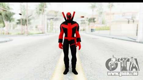 Marvel Heroes - Deadpool (Ultimate) pour GTA San Andreas deuxième écran