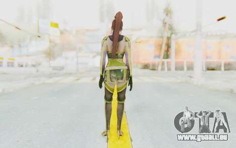 Dynasty Warriors 7 - Lian Shi v2 für GTA San Andreas dritten Screenshot