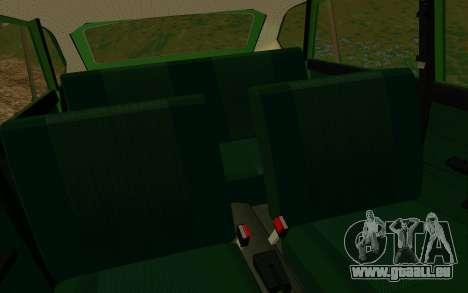 IZH-412 Kombi für GTA San Andreas Seitenansicht