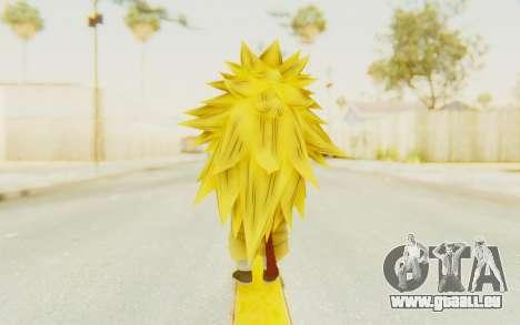Dragon Ball Xenoverse Goku Kid GT SSJ3 pour GTA San Andreas troisième écran