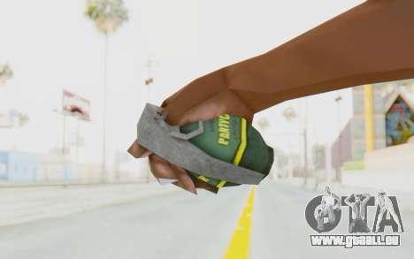 APB Reloaded - Grenade pour GTA San Andreas