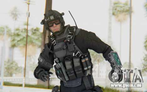 Federation Elite Assault Tactical für GTA San Andreas