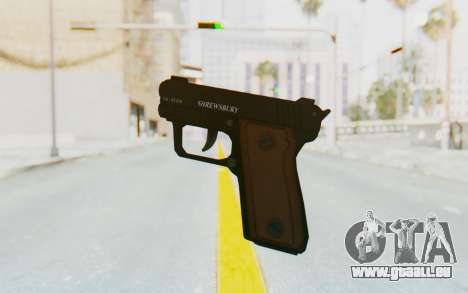 GTA 5 Shrewsbury SNS Pistol pour GTA San Andreas troisième écran
