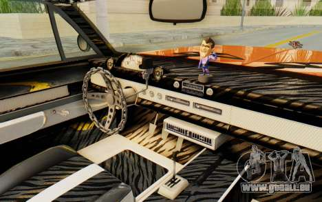 GTA 5 Declasse Voodoo Alternative v1 PJ pour GTA San Andreas vue intérieure
