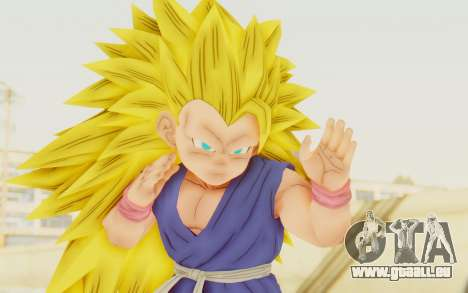 Dragon Ball Xenoverse Goku Kid GT SSJ3 pour GTA San Andreas