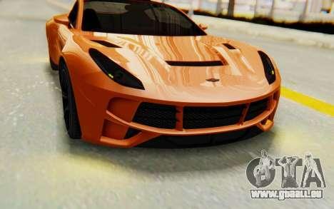 GTA 5 Dewbauchee Seven 70 IVF für GTA San Andreas Innenansicht