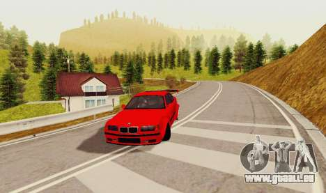 Kagarasan Piste pour GTA San Andreas deuxième écran