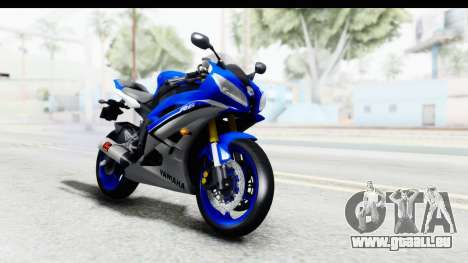 Yamaha YZF-R6 2006 with 2015 Livery pour GTA San Andreas
