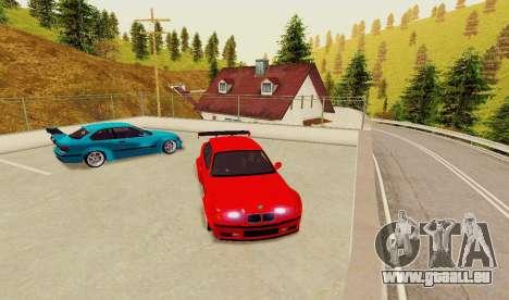 Kagarasan Piste pour GTA San Andreas quatrième écran