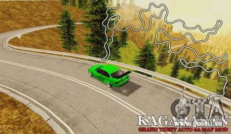 Kagarasan Piste pour GTA San Andreas