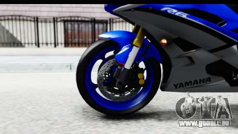 Yamaha YZF-R6 2006 with 2015 Livery pour GTA San Andreas vue arrière