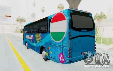 Neoplan Euro 2016 Hungarian Bus für GTA San Andreas linke Ansicht