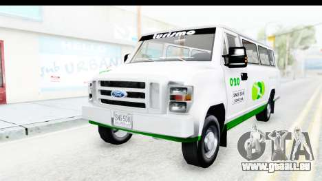 Ford Econoline 150 für GTA San Andreas Rückansicht