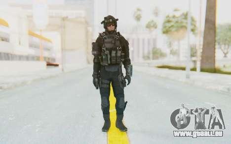 Federation Elite Assault Tactical pour GTA San Andreas deuxième écran