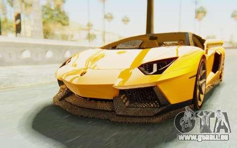 Lamborghini Aventador LP700-4 DMC pour GTA San Andreas vue de droite