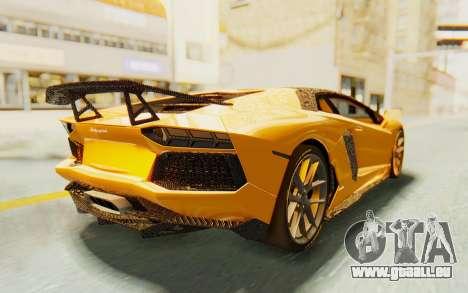 Lamborghini Aventador LP700-4 DMC für GTA San Andreas linke Ansicht