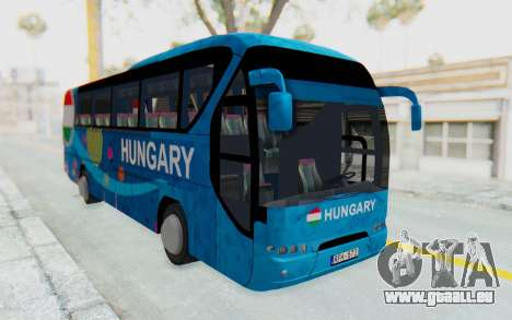 Neoplan Euro 2016 Hungarian Bus für GTA San Andreas rechten Ansicht