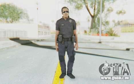 CoD BO2 LAPD v2 pour GTA San Andreas deuxième écran