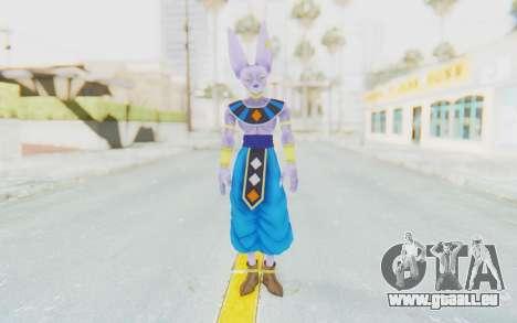 Dragon Ball Xenoverse Beerus für GTA San Andreas zweiten Screenshot