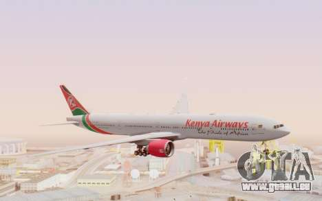 Boeing 777-300ER Kenya Airways pour GTA San Andreas