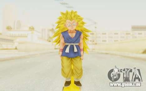 Dragon Ball Xenoverse Goku Kid GT SSJ3 pour GTA San Andreas deuxième écran