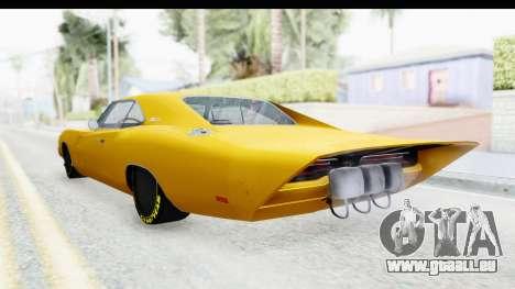 Dodge Charger 1969 Max Speed pour GTA San Andreas laissé vue